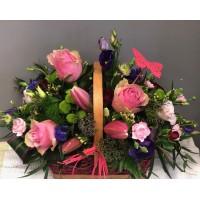 Stunning Pink Basket