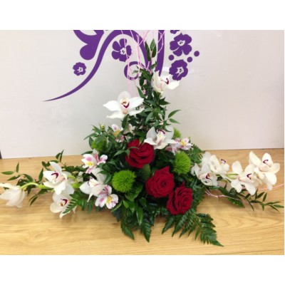 Rose & Orchid Arrangement